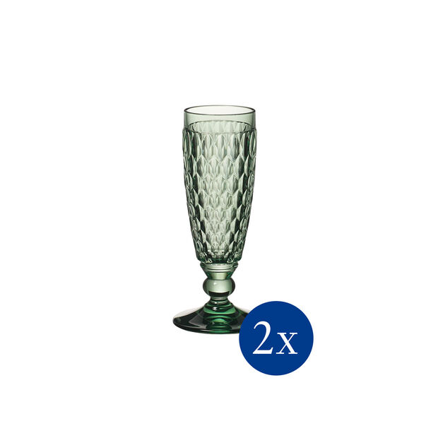 Boston coloured Cheers in green set, 2 pieces, , large