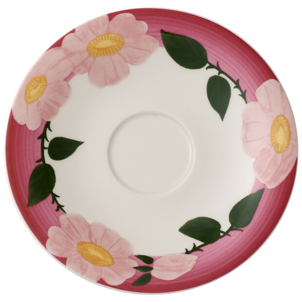 Rose Sauvage framboise breakfast cup saucer, , large