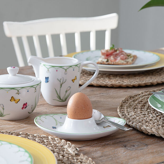 Colourful Spring egg cup, , large