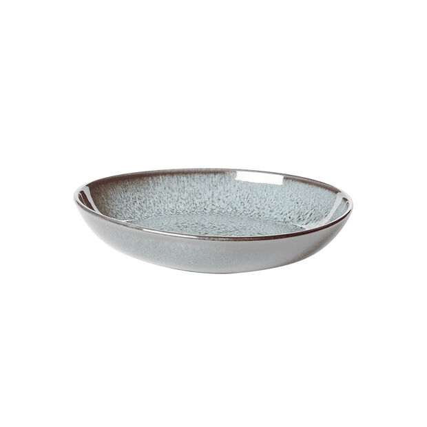 Lave Glacé small flat bowl, turquoise, 22 x 21 x 4.2 cm, , large