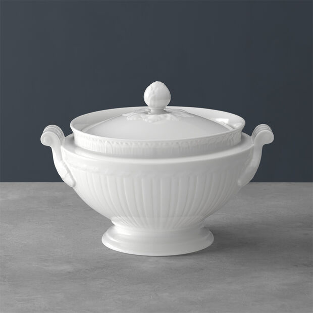Cellini tureen with lid, , large