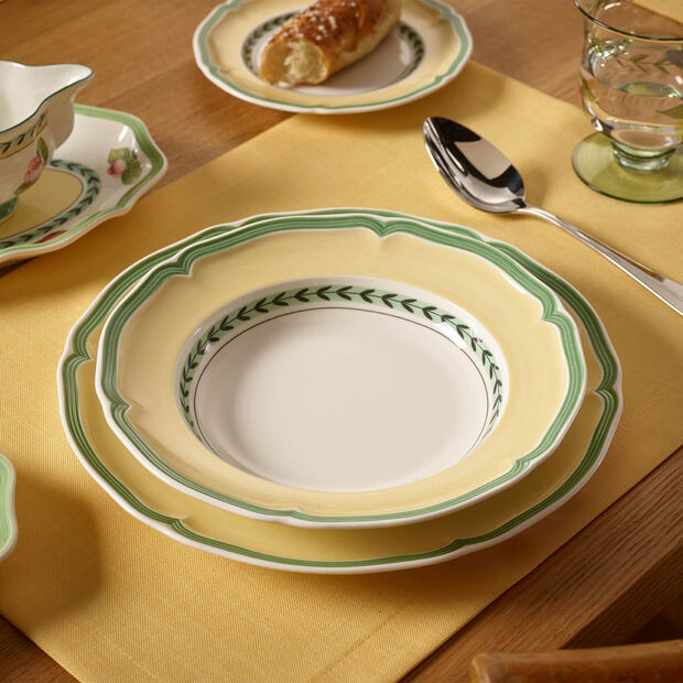 French Garden Vienne Deep plate 23cm, , large