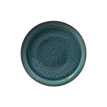 Crafted Breeze soup plate, grey-blue, 21.5 cm