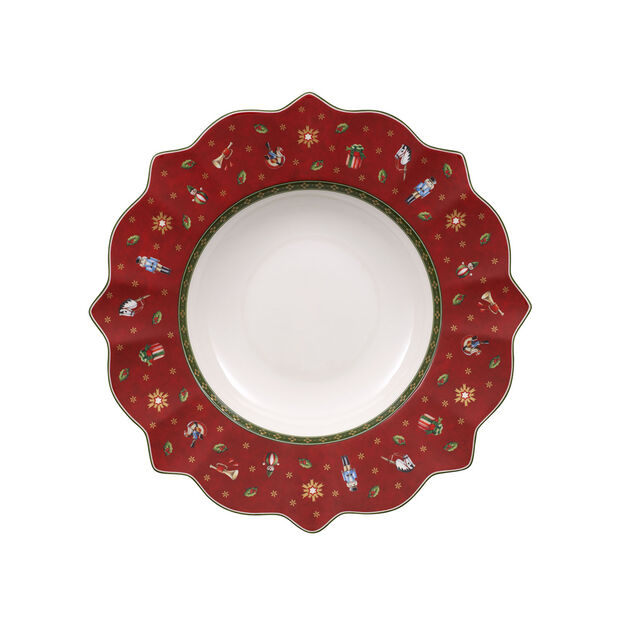 Toy's Delight Deep plate red 26cm, , large