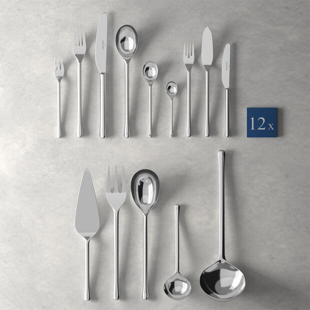 Udine lunch table cutlery 113 pieces, , large