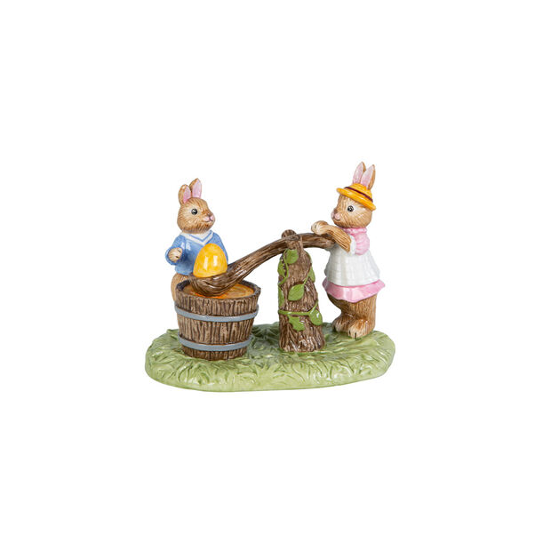 Bunny Tales figurine Egg Dyeing, multicoloured, , large