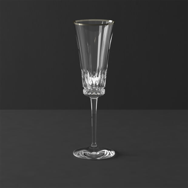 Grand Royal White Gold Champagne flute 239mm, , large