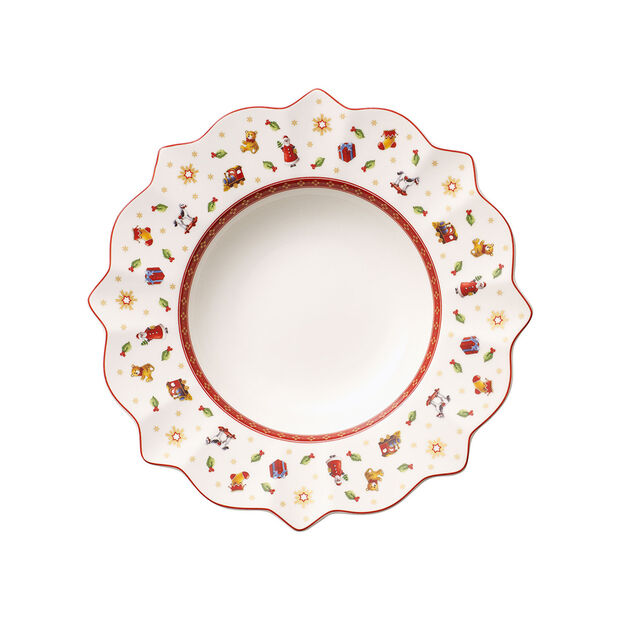 Toy's Delight white soup plate, , large