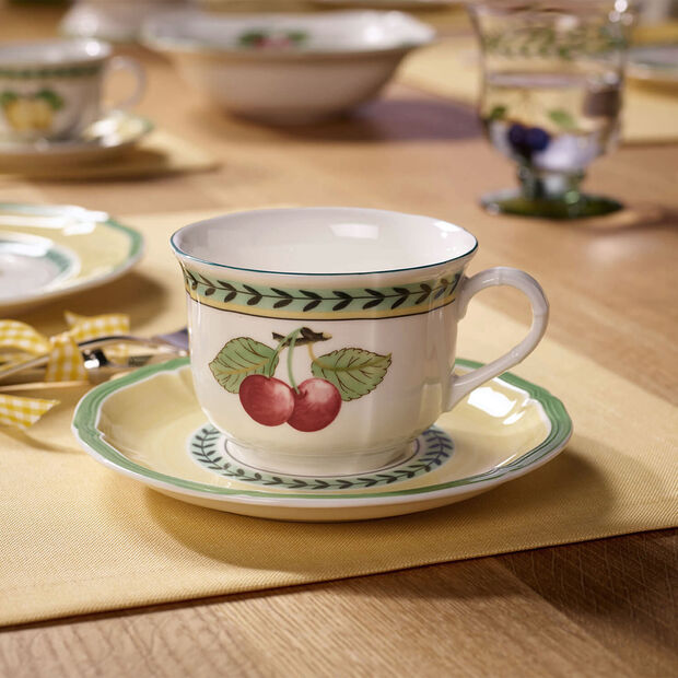 French Garden Fleurence Saucer breakfast/soup cup 17cm, , large