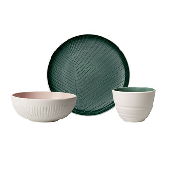 like.by Villeroy & Boch it's my match starter set, 3 pieces, for 1 person