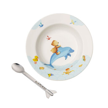 Happy as a Bear Children's dining set, 2 pcs.