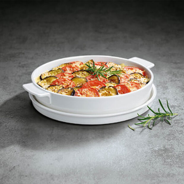 Clever Cooking round baking dish 28 cm, , large