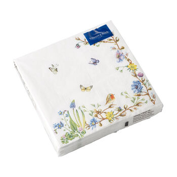 Easter Accessories napkins, flower tendril, 33 x 33 cm, 20 pieces