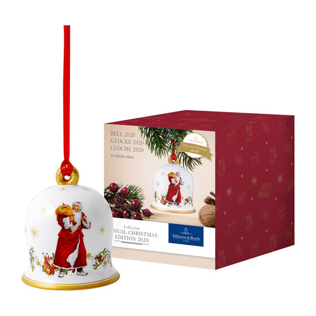 Annual Christmas Edition bell 2020, 6 x 6 x 7 cm, , large