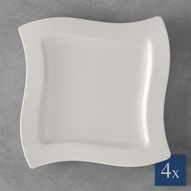 NewWave dinner plate, 4 pieces, , large