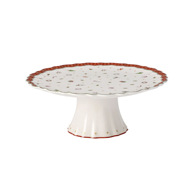Toy's Delight footed cake plate, , large
