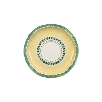 French Garden Fleurence soup cup saucer