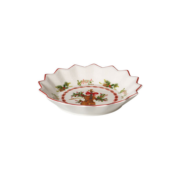 Toy's Fantasy small bowl violin, red/multicoloured, 17 x 17 x 3 cm, , large