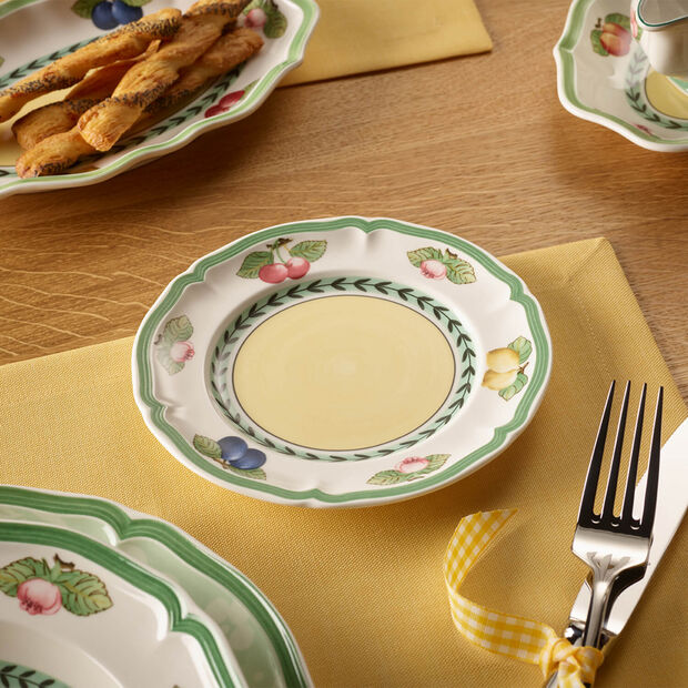 French Garden Fleurence bread plate, , large