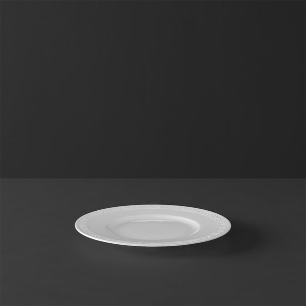 White Pearl bread plate, , large
