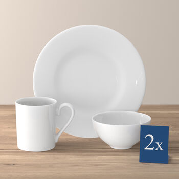 Royal breakfast set for two 6 pieces