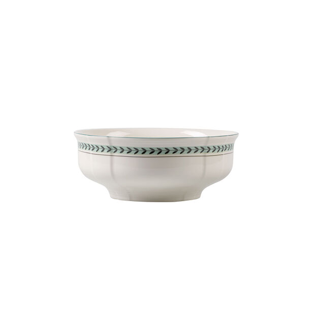 French Garden Green Line round bowl, , large