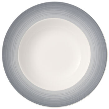 Colourful Life Cosy Grey Deep plate 25cm