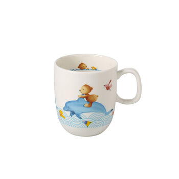 Happy as a Bear Children mug with 1 handle large 110x80x93mm