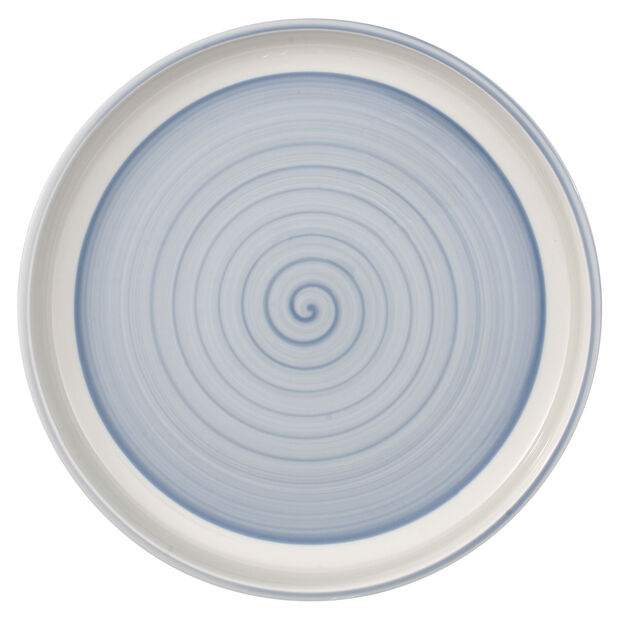 Clever Cooking Blue round serving plate 30 cm, , large