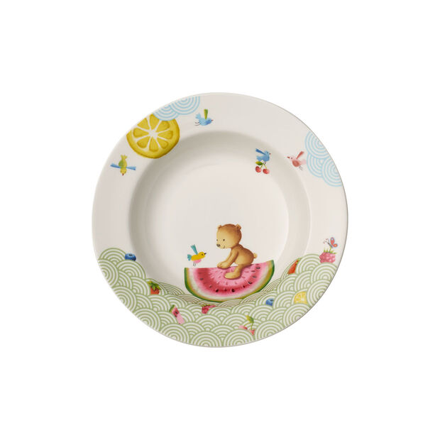 Hungry as a Bear Children deep plate 195mm, , large