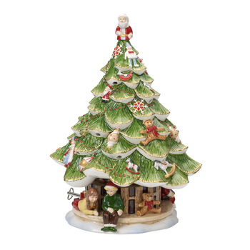 Christmas Toys Memory X-mas tree large with children 30cm