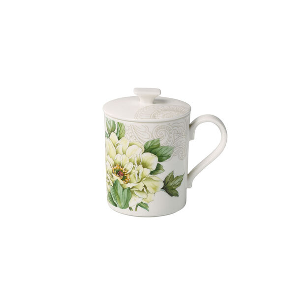 Quinsai Garden Gifts Mug with lid 11,5x8,5x11cm, , large