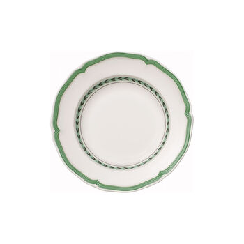 French Garden Green Line soup plate