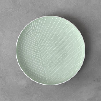 it's my match plate Leaf, 24 cm, Mineral Green