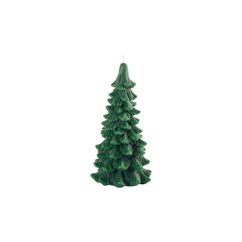 Winter Collage Accessoires Candle fir tree L 25cm