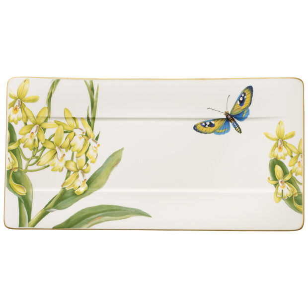 Amazonia serving plate 35 x 18 cm, , large