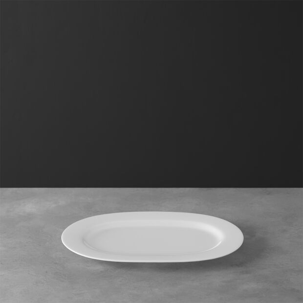Anmut oval plate 34 cm, , large