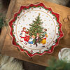 Toy's Fantasy Pastry plate deep, Kids dancing 39x39x3,5cm, , large