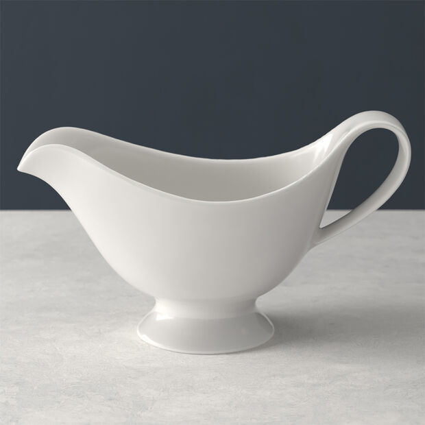 For Me sauce boat, white, 21 x 10 cm, 400 ml, , large