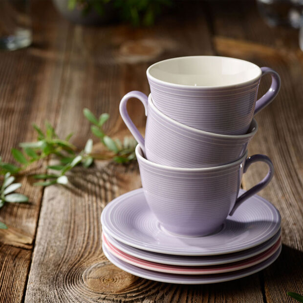 Color Loop Blueblossom Saucer coffee cup 15x15x2cm, , large