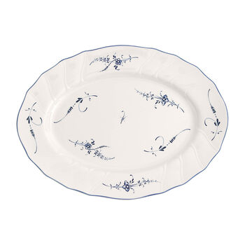 Old Luxembourg oval plate 36cm