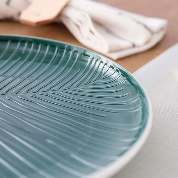 it's my match Green plate Leaf, , large