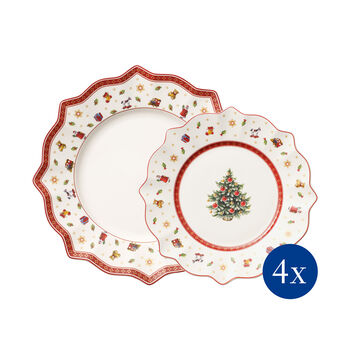 Toy's Delight plate set 8 pieces