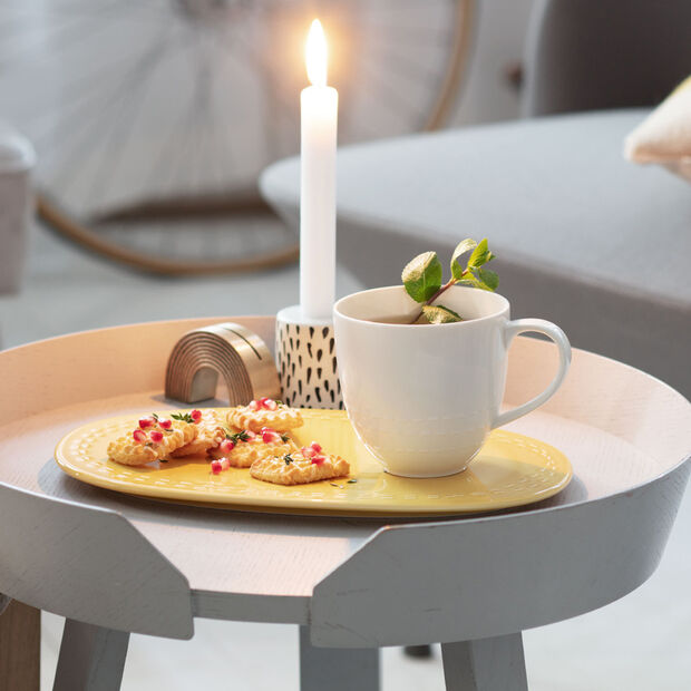 like.by Villeroy & Boch it's my moment Set, 2 pieces, for 1 person, honey, , large