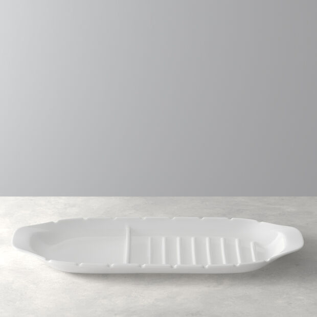 BBQ Passion serving plate XL with skewer holders, , large