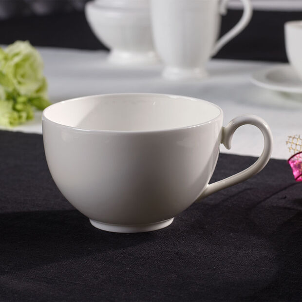 White Pearl cappuccino cup, , large
