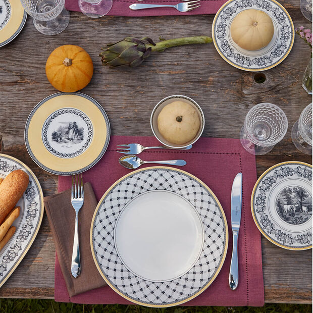 Audun Chasse bread plate, , large