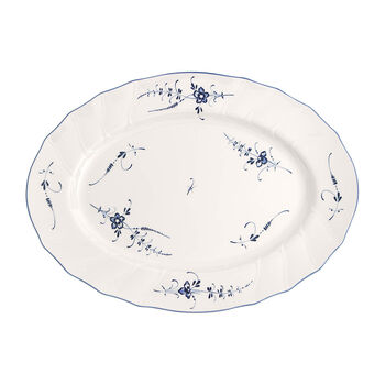 Old Luxembourg oval plate 43 cm