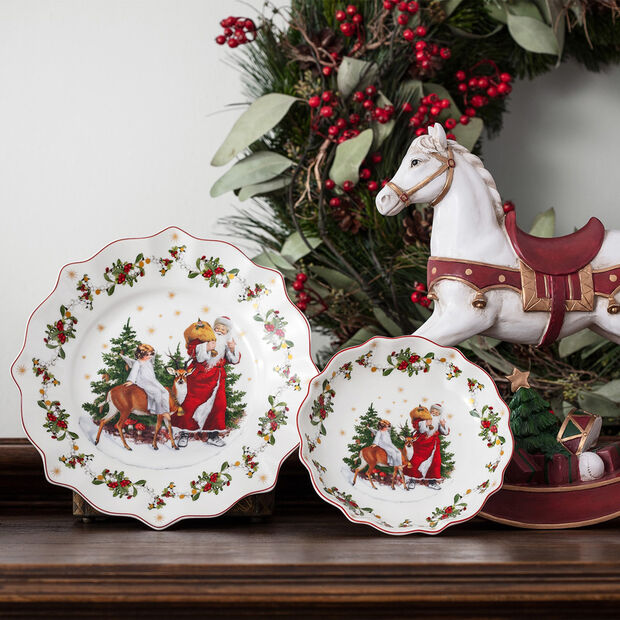 Annual Christmas Edition plate 2020, 24 x 24 cm, , large