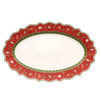 Toy's Delight oval plate